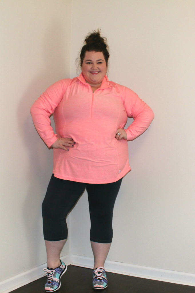 The Pretty Plus - Curvy Girl Workout Gear Plus Size Outdoor Outfit - The Pretty Plus